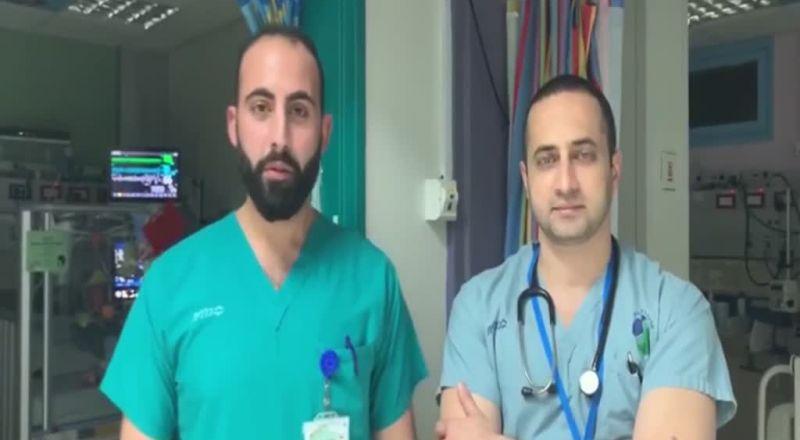 د. أسدي والممرض عمري يتوجهان للمواطنين العرب