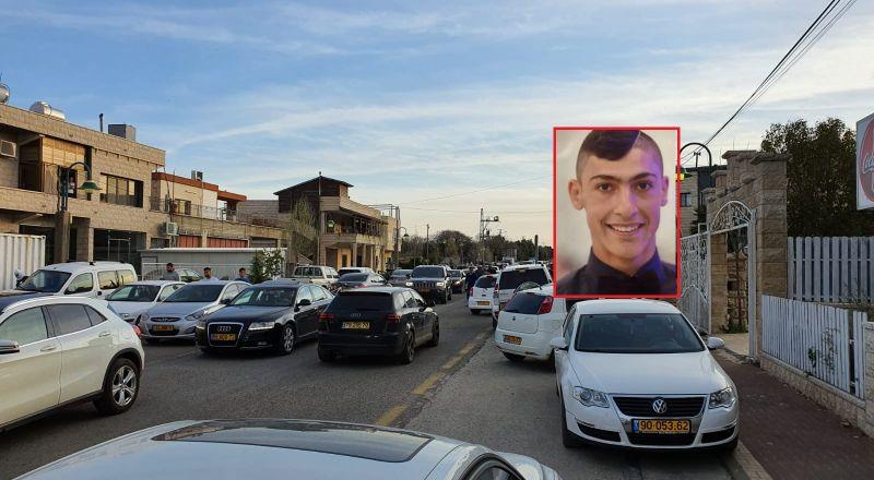 حادث طرق بالقرب من مسعدة: ومصرع حسين الشوفي (21 عامًا)