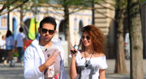 كريم ياسين ورانيا نجيب يروجان للسياحة الكورية