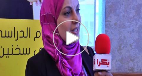د. اسماء غنايم: مهمة دمج النساء في سوق العمل ملقاة على المراكز الحكومية