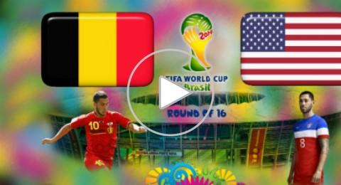 الليلة: بلجيكا تسعى للانتقام من الولايات المتحدة على أرض
