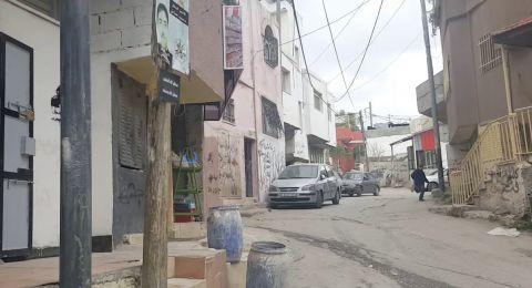 اصابة مقاتلة في حرس الحدود بمخيم الدهيشة