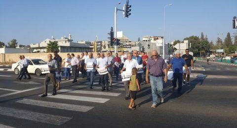 جلجولية تحتجّ وتتظاهر ضدّ قانون القوميّة
