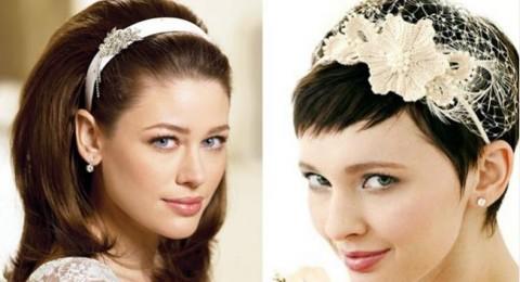 اعتمدي الشعر القصير في يوم زفافك ولا تخافي