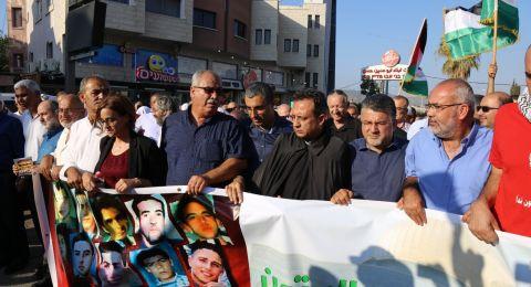 بركة: لن نتسول حقوقنا من فتات الأحزاب السلطة ومداهنة الحركة الصهيونية