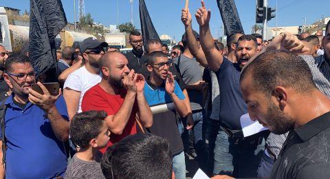 إغلاق شارع 65: مظاهرة غاضبة ضد القتل