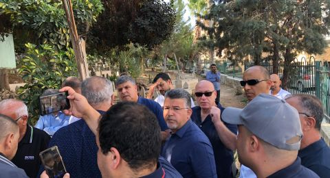 ام الفحم: العشرات يزورون ضريح شهيد هبة القدس والأقصى محمد جبارين