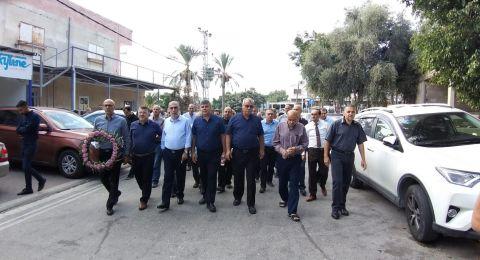 انطلاق زيارة شهداء هبة القدس والأقصى
