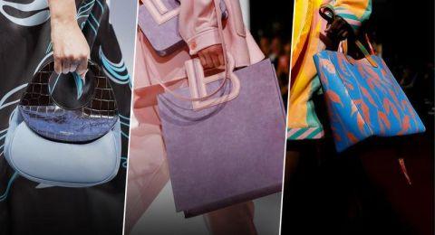 صيحات موضة شنط 2020 من أسبوع الموضة في ميلان
