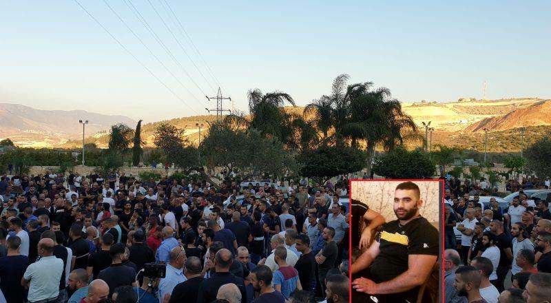 مجد الكروم تشيع جثمان ضحية العنف الثالث: محمد سبع