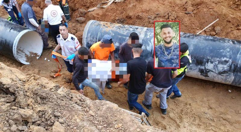 اكسال: مصرع احمد لافي دراوشة في حادث عمل في اشكلون