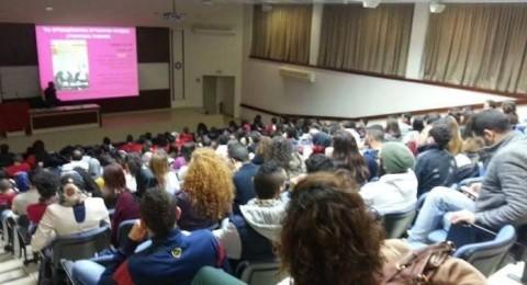 الجبهة الطلابية في جامعة تل ابيب ، تنتخب هيئاتها وتنطلق للعمل بأولى امسياتها