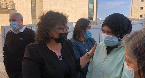 زوجها طعنها 9 طعنات والمحكمة أدانته بالايذاء الجنسي وليس بمحاولة القتل .. تظاهرة في حيفا