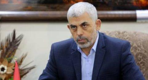حماس تعلن عن إصابة رئيس المكتب السياسي، يحيى السنوار، بالكورونا!