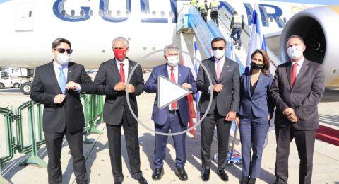 وزير الاقتصاد والصناعة الإسرائيلي يستقبل نظيره البحرينيّ