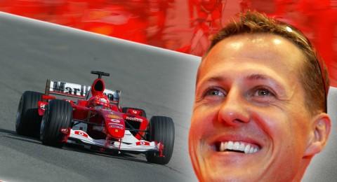 شوماخر بطل الفورمولا 1 بوضع حرج