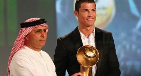 رونالدو يسحق الجميع في جائزة دبي لأفضل لاعب في العالم