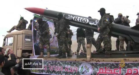 مصادر عبرية: حماس تطلق صواريخ تجريبية