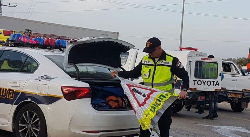 قسم المرور في الشرطة يختتم عامًا ويكشف عن معطيات اهم انجازاته وعمله للعام 2019