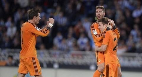 ريال مدريد يسحق سوسيداد برباعية بيضاء
