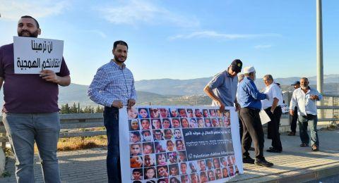 البعينة- النجيدات ترفض سياسة الإعتقالات