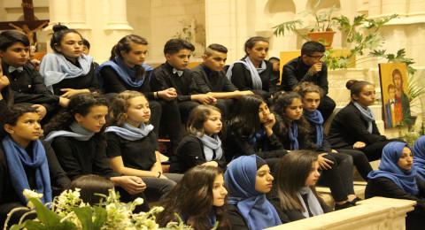 كنيسة السالزيان في الناصرة تحتضن كونسيرت