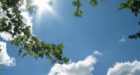 حالة الطقس:يطرأ ارتفاع على درجات الحرارة