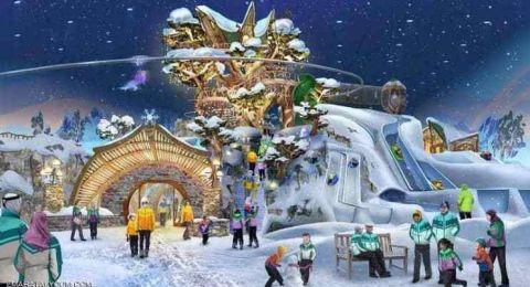 أبوظبي على موعد مع أكبر حديقة ألعاب ثلجية مغطاة بالعالم