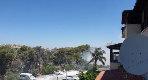 حريق في شنلر بالناصرة وآخر في عين ماهل