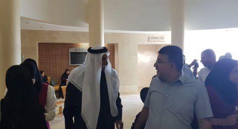 الشيخ صياح الطوري في لقائه مع جبارين: الدعوة الى الوحدة والى تعزيز الدعم للنقب