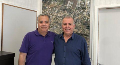 جلسة عمل مثمرة بين رئيس مجلس زيمر تميم ياسين ومستشار قائد سلطة الإطفاء والإنقاذ