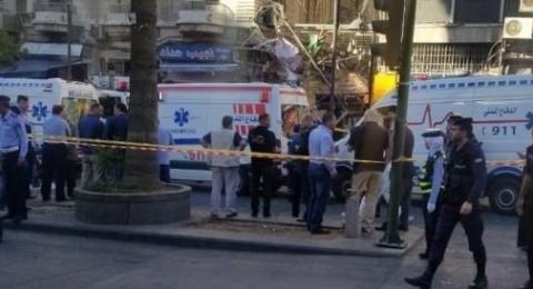 الأردن: قتيلان بانفجار وسط عمّان