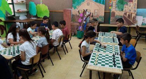 مخيم صيفي غير نمطي في المدرسة الجماهيرية بير الامير -الناصرة