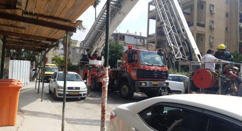 إصابة عامل اثر سقوطه في ورشة بهود هشارون