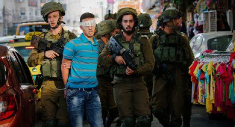 الاحتلال يعتقل 22 مواطنًا بالضّفة