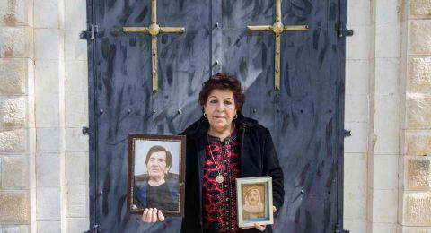 سلوى قبطي بعد السماح لها بزيارة قبر والدها في معلول: غصة قلب