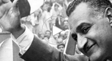 فيديو نادر لعبد الناصر يحصد مئات آلاف المشاهدات
