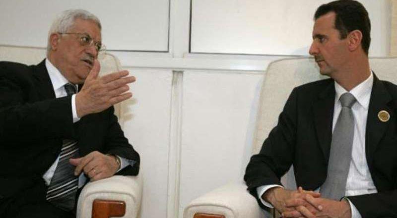 الأسد يهدي الرئيس الفلسطيني مصحفا مكتوبا بماء الذهب