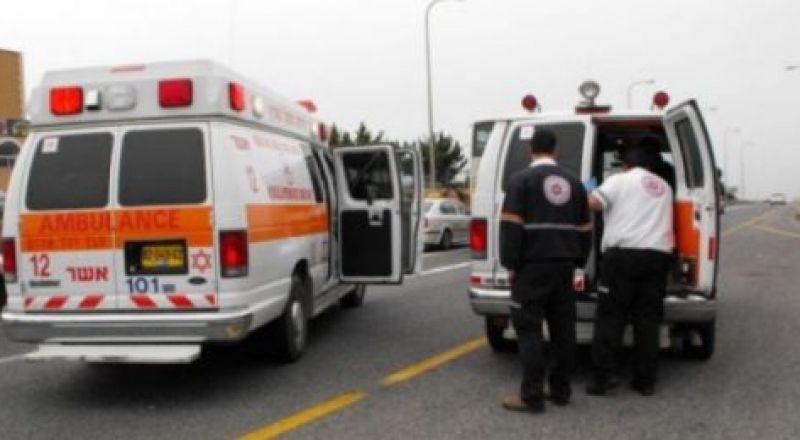 بير المكسور: نقل شاب إلى المستشفى مصاب بصورة خطرة