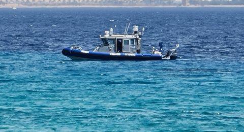 الشرطة تلقي القبض على الأردني  الذي تسلل سباحة إلى أحد شواطئ إيلات