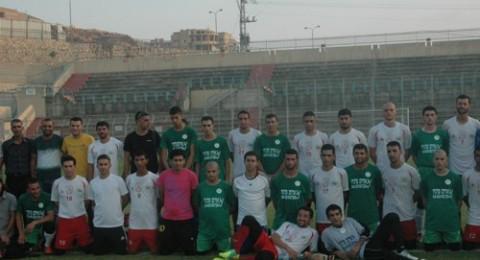 فوز لمنتخب الدوري الإسلامي على نادي الموظفين المقدسي (5-1)