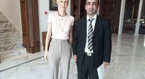 ظهور جديد لأسماء الأسد بعد اصابتها بالسرطان