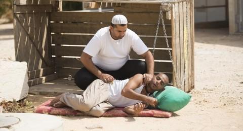 رهط تعانق عبدو بعد النجاح الباهر في مهرجان مسرحيد عكا