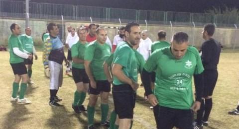تجديد نشاط فريق قدامى عين ماهل بكره القدم