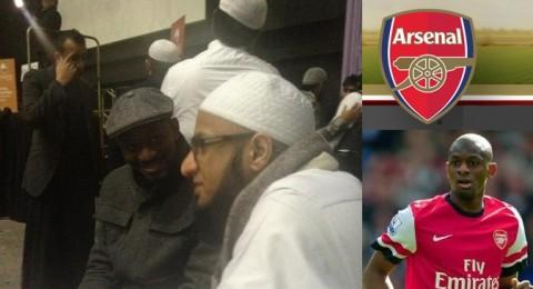 لاعب الارسنال أبو ديابي يحفظ الجزء التاسع عشر من القرآن الكريم