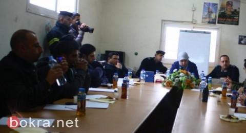 اجتماع لجنة الطوارئ في رام الله للتعامل مع موجة البرد والمنخفض الجوي