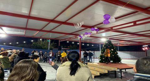 لأولّ مرة منذ سبعين عاماً: اضاءة شجرة عيد الميلاد في شعب
