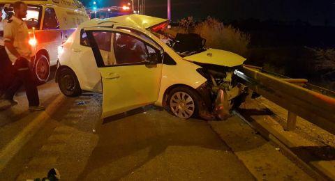 انخفاض في عدد ضحايا حوادث الطرق عام 2018 بالمجتمع العربي