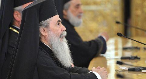 قرار فلسطيني موحّد بمقاطعة استقبال البطريرك ثيوفيلوس الثالث