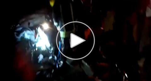 مصرع شخصين واصابة اخرين في حادث طرق بين سيارة فلسطينية وشاحنة اسرائيلية